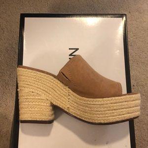 Slip on heels